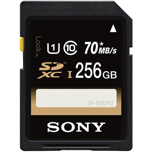 Sony 256GB UHS-I SDXC Memory Card (Class 10)