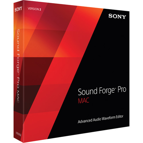 Sony Sound Forge Pro Mac 2.5 Crossgrade - Digital Audio Editing Software (Download)