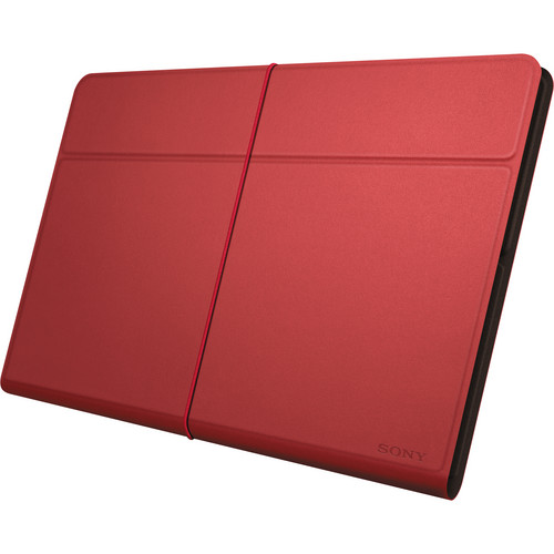 Sony Leather Cover for Xperia Tablet Z (Red)