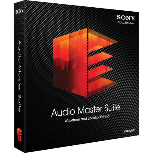 Sony Sound Forge Pro 11 Audio Master Suite