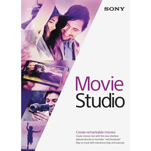 MAGIX Entertainment Movie Studio 13 Video Editing Software (Download)