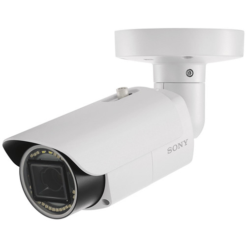 Sony E-Series SNC-VB642D 2MP Outdoor Network Bullet Camera with Night Vision & 3-9mm Lens