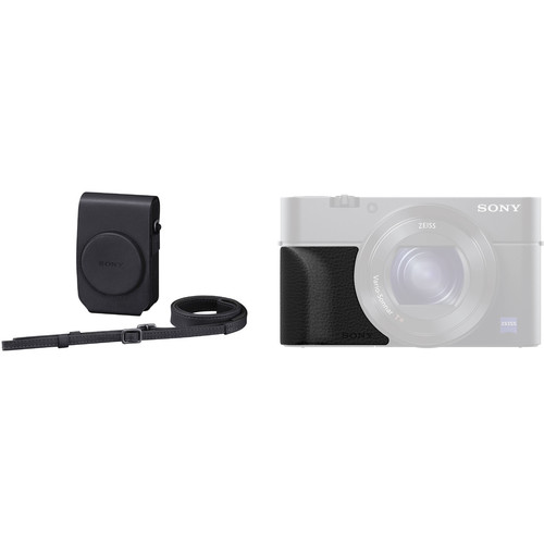 Sony Soft Case / Attachment Grip for Cyber-shot RX100, RX100II (B&H Kit)
