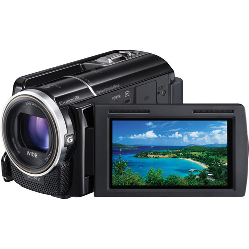 Sony 160GB HDR-XR260E HD Camcorder (PAL, Black)