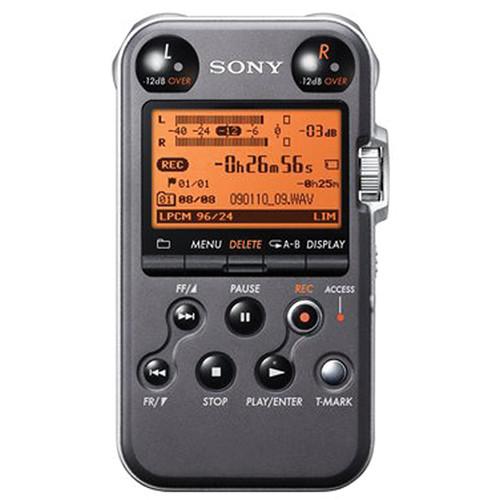 Sony PCM-M10 Portable Audio Recorder & OLM-10 Lavalier Value Bundle (Black)