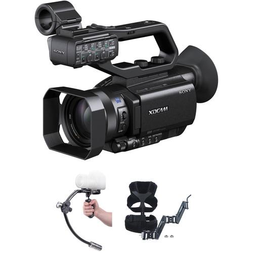 Sony Sony PXW-X70 Camcorder with Steadicam Merlin 2 Stabilizer Kit
