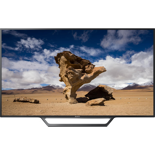 """Sony Sony W650D-Series 55""""-Class Full HD Smart LED TV and PlayStation 4 Slim with Uncharted 4 Kit"""