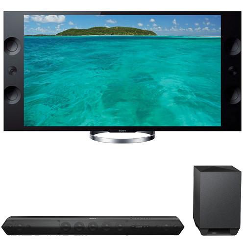 """Sony Sony XBR-55X900A 55"""" TV with HTST7 Sound Bar Kit"""
