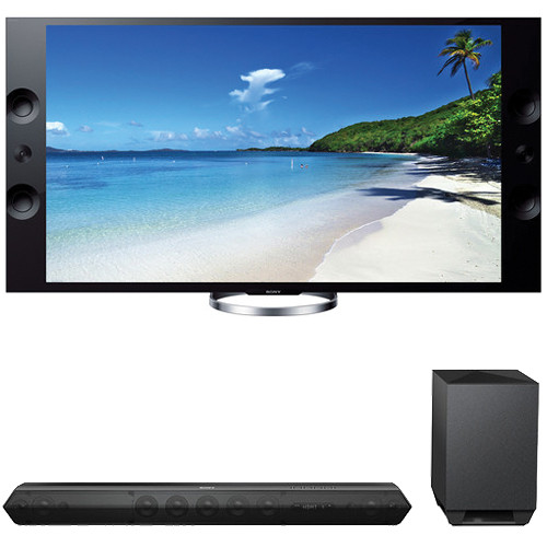 "Sony Sony XBR-65X900A 65"" TV with HTST7 Sound Bar Kit"