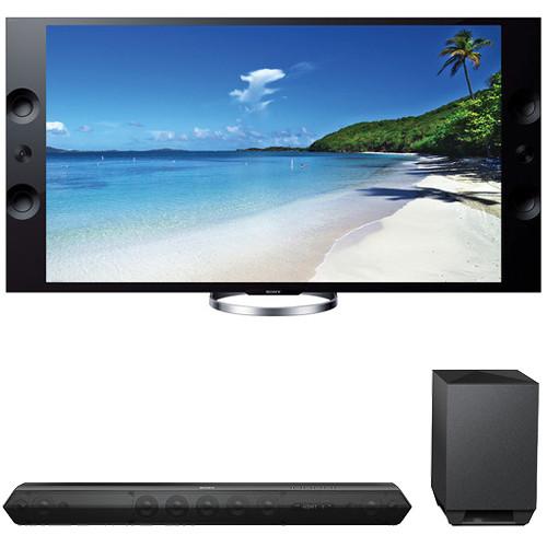 """Sony Sony XBR-65X900A 65"""" TV with HTST7 Sound Bar Kit"""