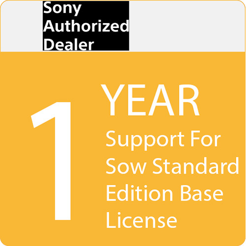 Sony SOW Standard Edition Base License with 1-Year Support