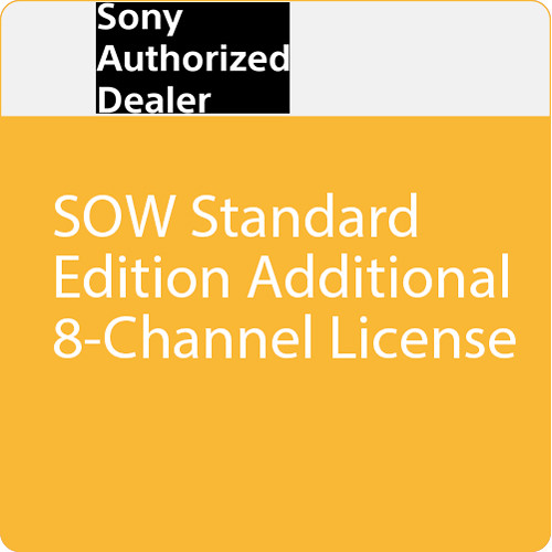 Sony SOW Standard Edition Additional 8-Channel License