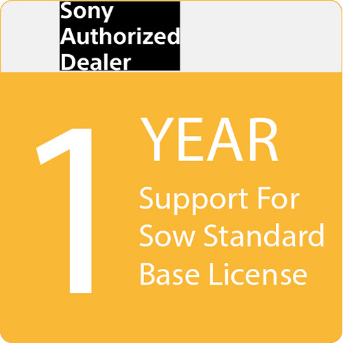 Sony 1-Year Support for SOW-Standard Edition Base License