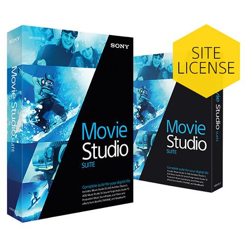 Sony Movie Studio Platinum 13 (Upgrade, Academic, Site License)