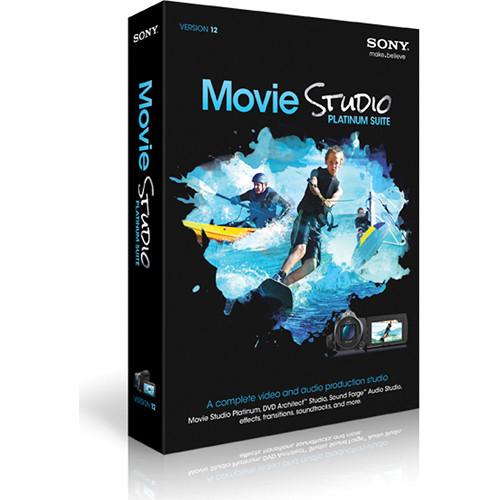 Sony Movie Studio Platinum Suite 12 (5-99 License Agreement)