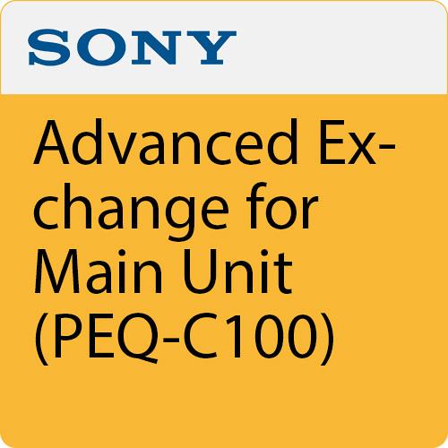 Sony 3 Years Advanced Exchange for Main Unit (PEQ-C100)