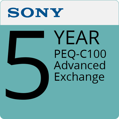 Sony 5-Year PEQ-C100 Advanced Exchange