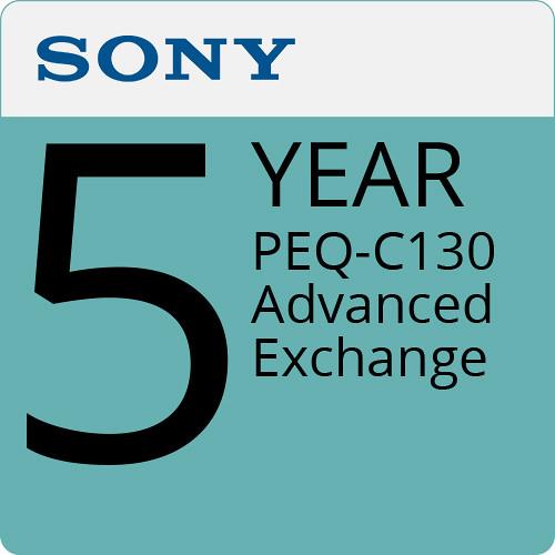 Sony 5-Year PEQ-C130 Advanced Exchange