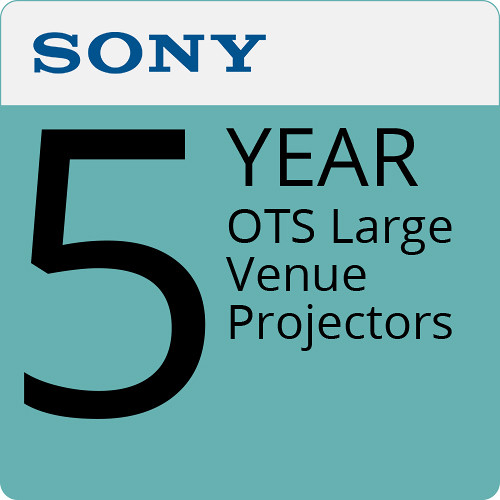 Sony 5-Year OTS Large Venue Projectors