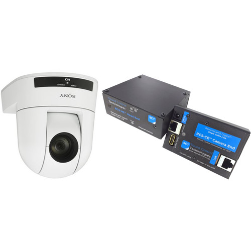 Sony SRG300HW/PAC5 EZ-2-Connect PTZ Camera Solution (White)