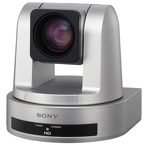Sony SRG-120DH PTZ Desktop Camera with 12x Optical Zoom (Silver Housing)