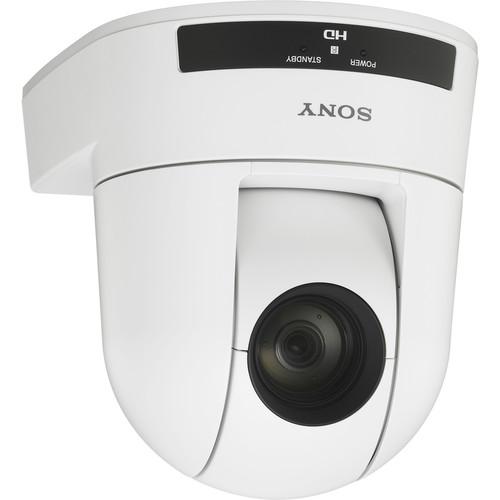 Sony SRG-300HW 1080p Desktop & Ceiling Mount Remote PTZ Camera (White)