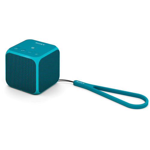 Sony SRS-X11 Ultra-Portable Bluetooth Speaker (Blue)