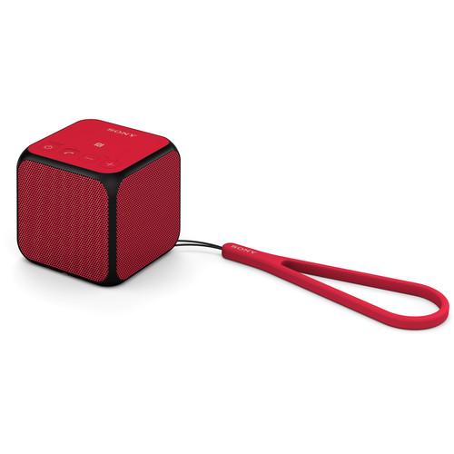 Sony SRS-X11 Ultra-Portable Bluetooth Speaker (Red)