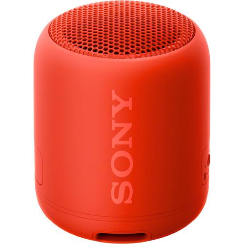 Sony SRS-XB12 Portable Bluetooth Speaker (Red)