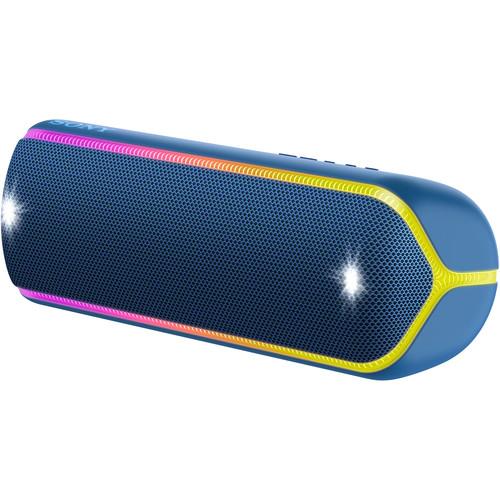 Sony SRS-XB32 EXTRA BASS Portable Bluetooth Speaker (Blue)