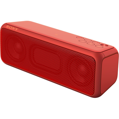 Sony SRS-XB3 Portable Bluetooth Wireless Speaker (Red)