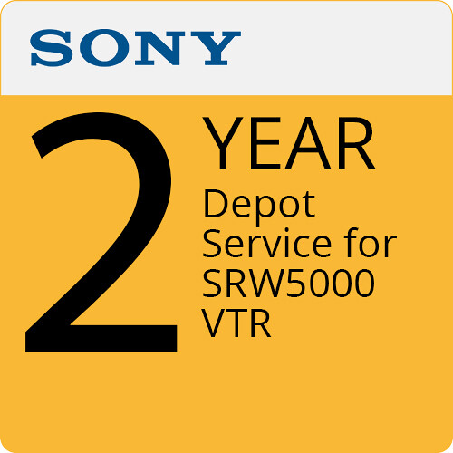 Sony 2-Year Depot Service For SRW5000 VTR