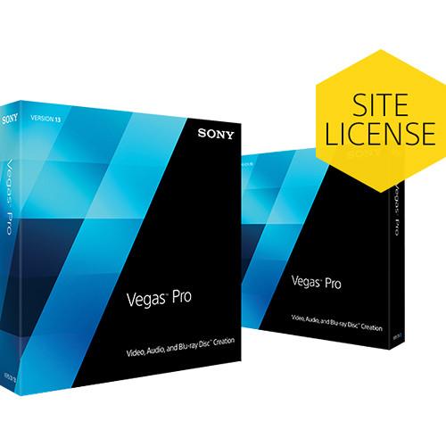 Sony Studio to Vegas Pro 13 Site License Upgrade (Academic)