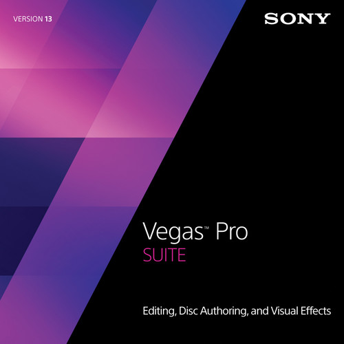Sony Vegas Pro 13 Suite Upgrade from Movie Studio (Download)