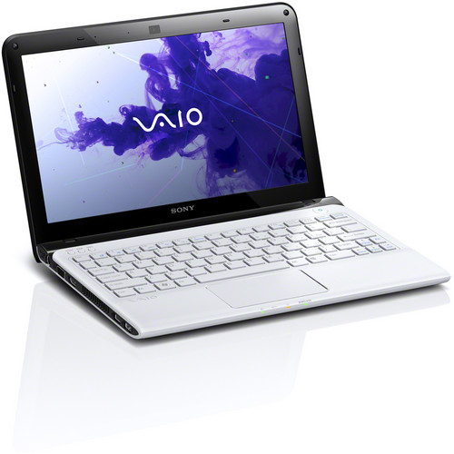 "Sony VAIO E Series 11 SVE11135CXW 11.6"" Notebook Computer (Seafoam White)"