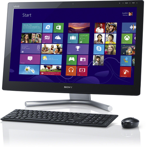 "Sony VAIO L24 Series 24"" All-in-One Desktop Computer (Black)"