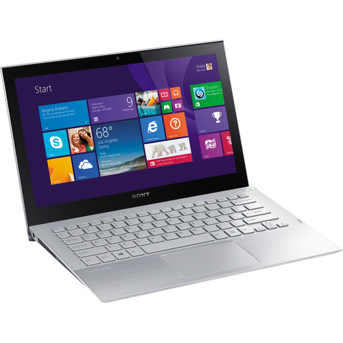 "Sony VAIO Pro 11 SVP11223CXS 11.6"" Multi-Touch Ultrabook Computer (Carbon Silver)"