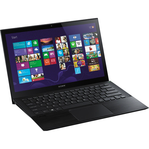 """Sony VAIO Pro 13 SVP13224PXB 13.3"""" Multi-Touch Notebook Computer (Carbon Black)"""