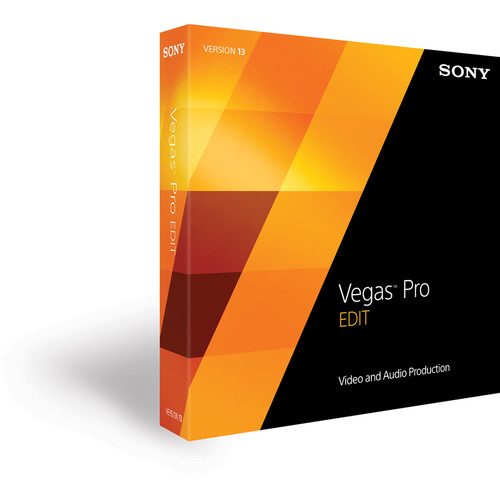 Sony Vegas Pro 13 Edit Upgrade from Movie Studio (Boxed)