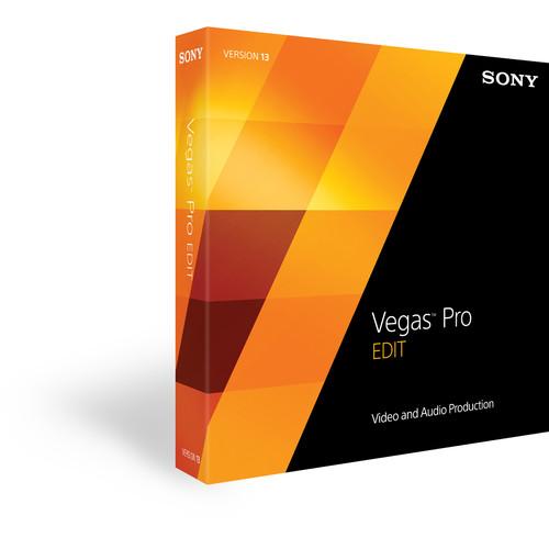 Sony Vegas Pro 13 Edit Upgrade from Movie Studio (Download)