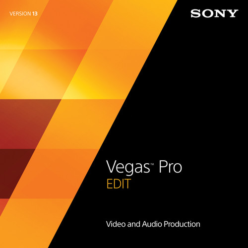 Sony Vegas Pro 13 Edit (100-499 License Tier, Academic Edition, Boxed)