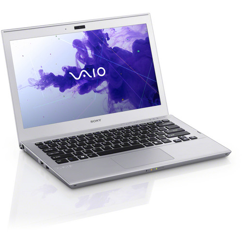 "Sony VAIO T Series 13 SVT13132CXS 13.3"" Ultrabook Computer (Silver Mist)"