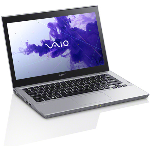"Sony VAIO T Series 13 SVT13136CXS 13.3"" Multi-Touch Ultrabook Computer (Silver Mist)"