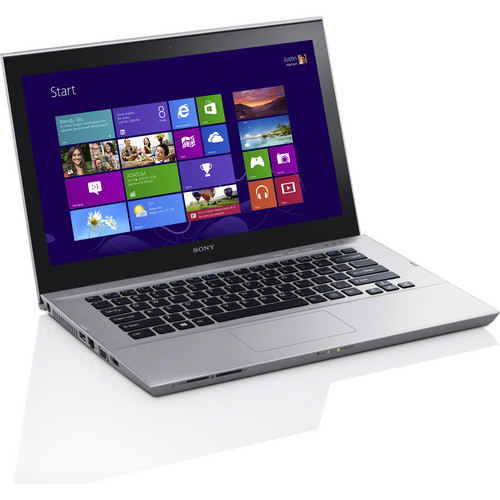 "Sony VAIO T Series 14 SVT14127CXS 14"" Multi-Touch Ultrabook Computer (Silver Mist)"