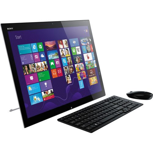 "Sony VAIO Tap 21 SOSVT21213CXB 21.5"" Multi-Touch All-in-One Desktop Computer (Black)"