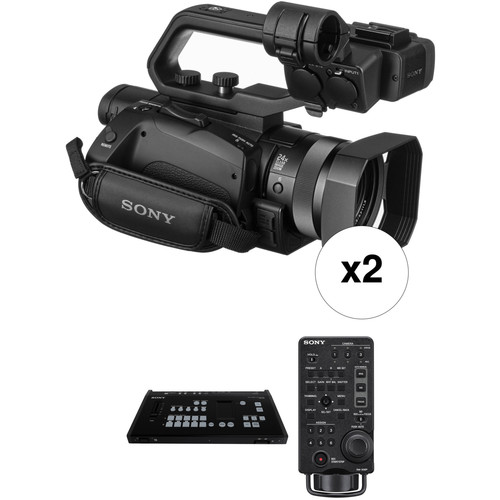 Sony Two HXR-MC88 HD Camcorder Kit with MCX-500 Switcher