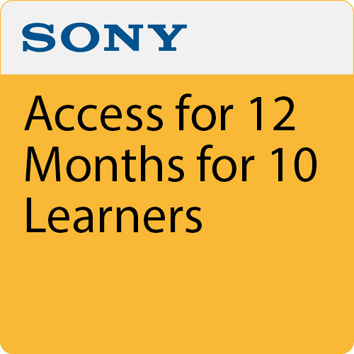 Sony Access for 12 Months for 10 Learners
