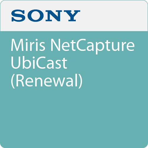 Sony Miris NetCapture UbiCast (Renewal)