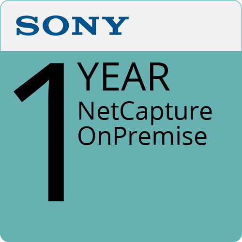 Sony NetCapture OnPremise (1-Year)