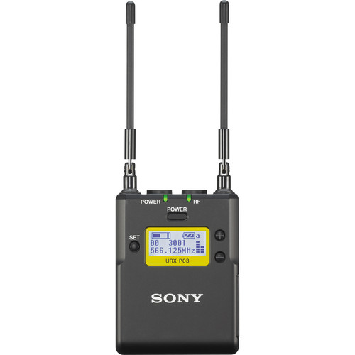 Sony URXP03 Integrated Digital Portable Wireless Receiver (UHF Channels 42/51: 638 to 698 MHz)